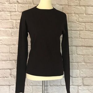 Versace Jeans Couture Brown ribbed sweater size M